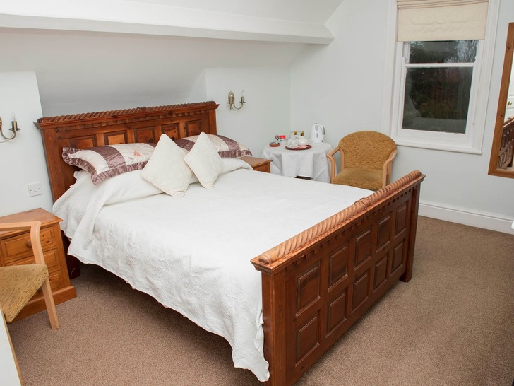 One of our spacious double bedrooms