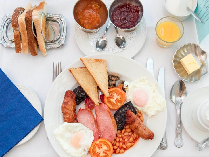 Full Yorkshire Breakfast is included in the room rate